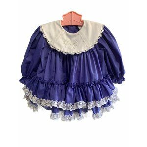 Vintage Bryan Full Circle Lace Dress